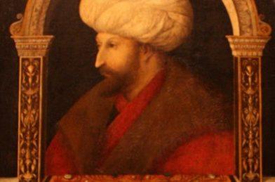 Gentile Bellini'nin Fatih Sultan Mehmet Han Portresi
