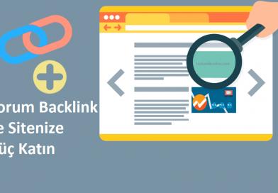 Yorum Backlink Nedir? Nasıl Alınır?