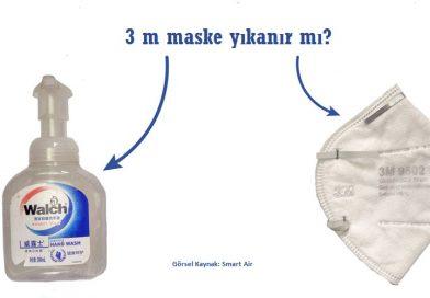 3m Maske Yıkanır Mı?